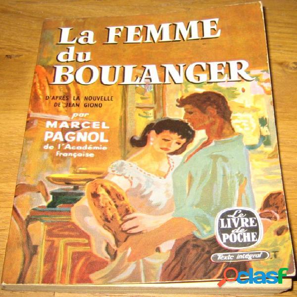 La femme du boulanger, marcel pagnol