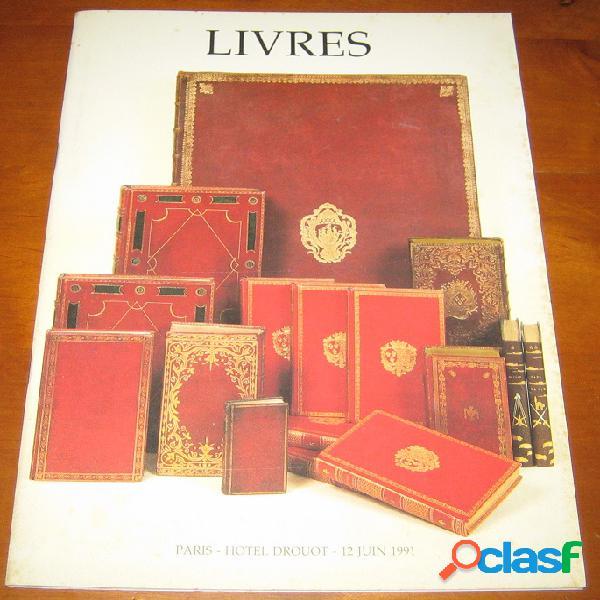 Livres anciens, livres des xixe et xxe, régionalisme, généalogie, curiosa, beaux-arts, documentations
