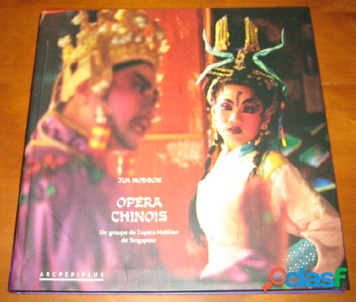 Opera chinois, un groupe de l'opéra hokkien de singapour, jim hodson