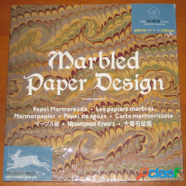 Marbled paper designe - les papiers marbrés
