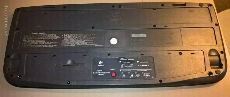 Clavier sans fil marque logitech fx709 pour pc fixe/pc de b