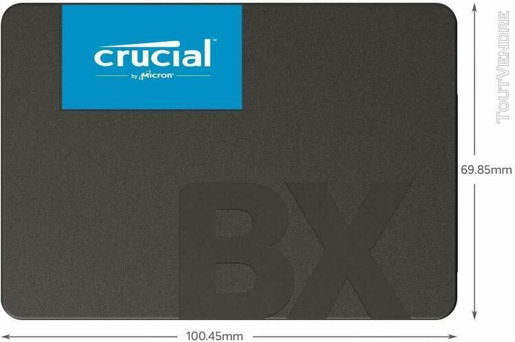 "Disque dur externe bx500 120go,sata 6.0gb/s 2,5""ssd interne("