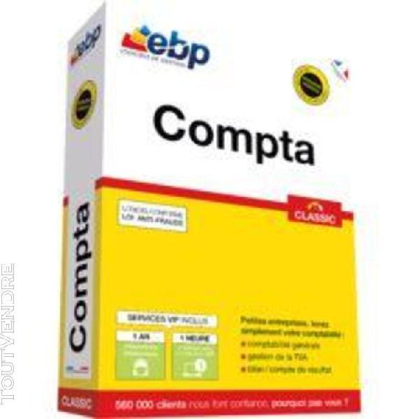 Ebp compta classic - version boîte + services vip - 1
