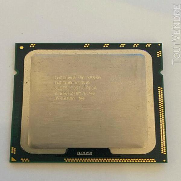 Intel xeon '08 x5550 - 2.66ghz/8m/6.40 3945b062