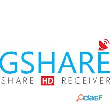Recharge GSHARE Server 12 Mois (Geant , StarSat , Tiger , Pinacle, Viark)