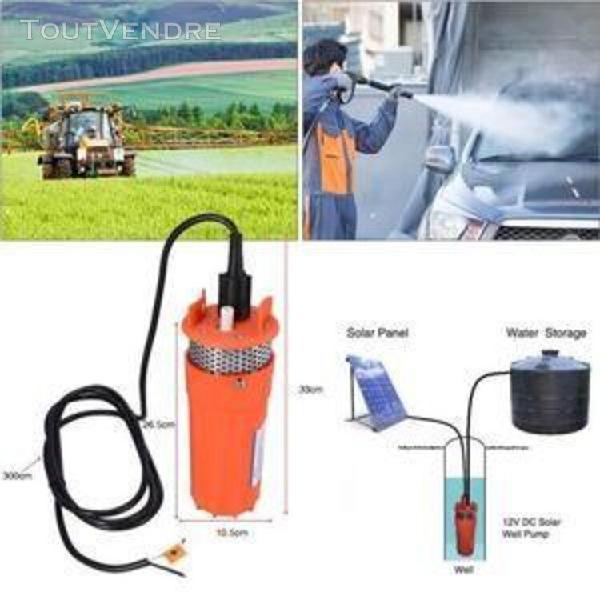 12v pompe submersible de puits profond pompe à l'eau dc