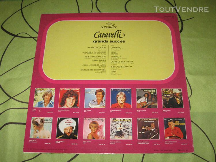 Caravelli grands succes 33t