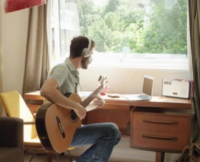 Cours de guitare (à distance en vidéo)