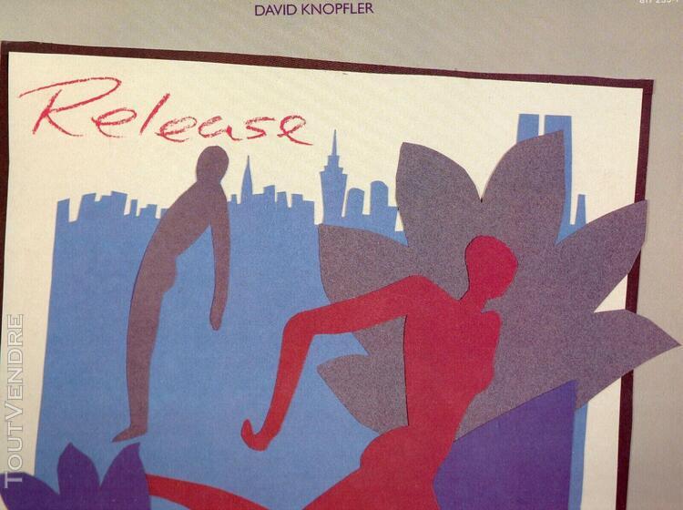 "David knopfler ""release"" 33 t 30 cm - paris records uk - pol"