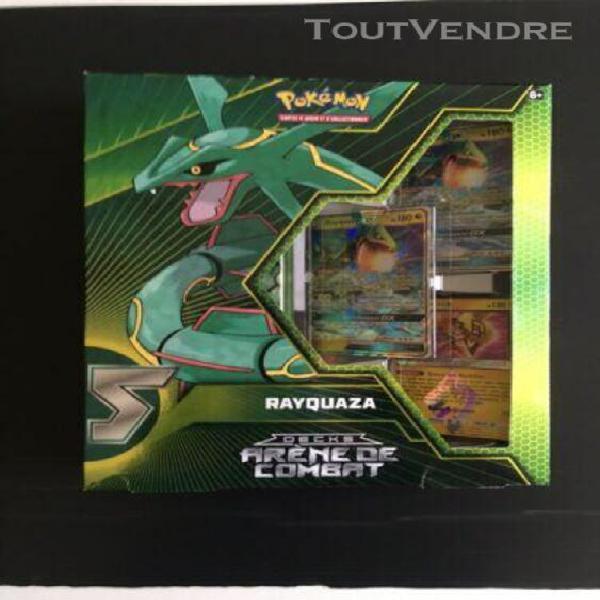 deck pokémon - arène de combat arena rayquaza-gx neuf en