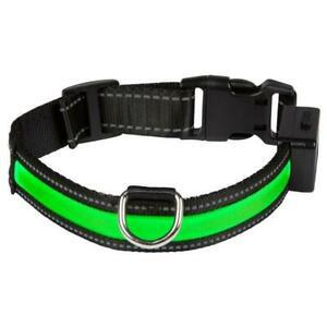 Eyenimal collier lumineux light collar usb rechargeable l -