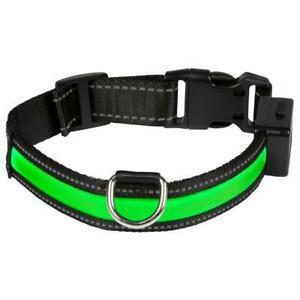 Eyenimal collier lumineux light collar usb rechargeable s -