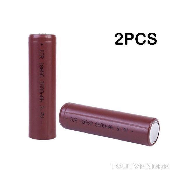 new 3.7v 2600mah 18650 li-ion rechargeable pour lampe de poc