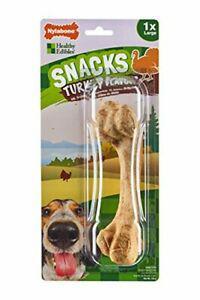 nylabone friandises à mâcher pour chien arôme dinde sans