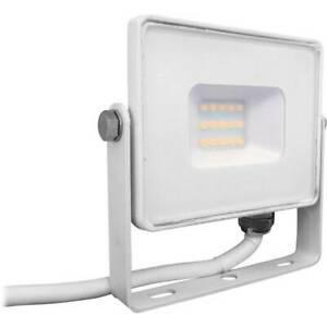 Projecteur led extérieur 10 w 1x led intégrée blanc