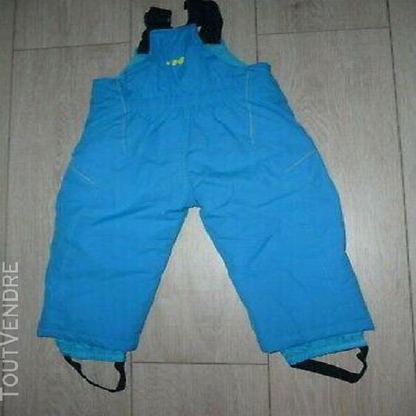 Salopette pantalon de ski turquoise decathlon 18 mois (77-97
