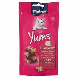 Vitakraft cat yums pâté de foie friandise pour chat, 40 g