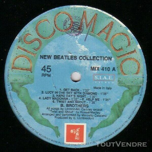 B. brothers – new beatles collection maxi 45 t beatles