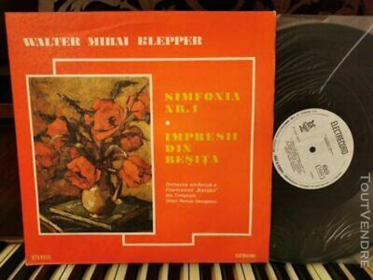 Klepper: symphony n°1 + impressions > georgescu /