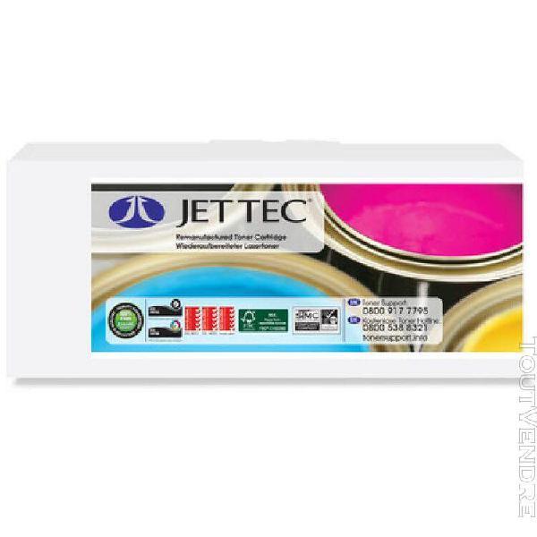Jet tec jet tec toner h211 remplace hp ccf211a, cyan noir