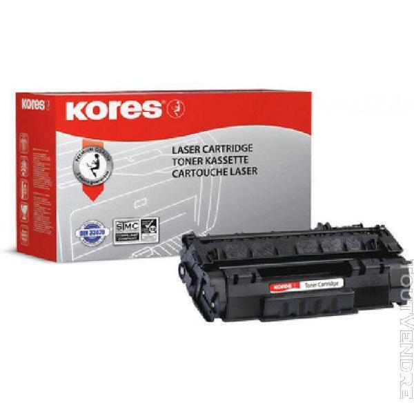 Kores toner g1114hcrb remplace hp q2612a, hc, noir
