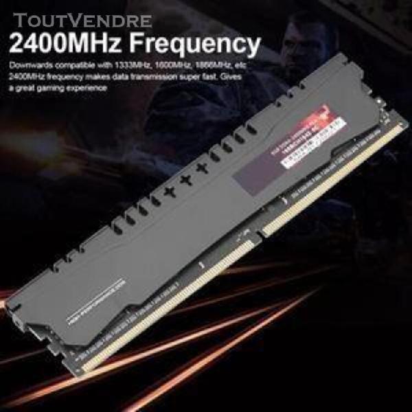 8gb ddr4 ram transmission données rapide 2400 mhz 288pin