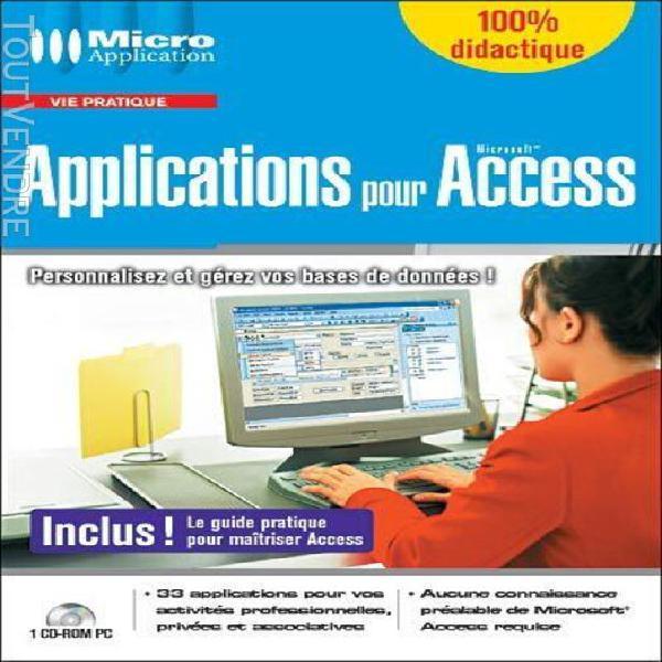 applications pour access