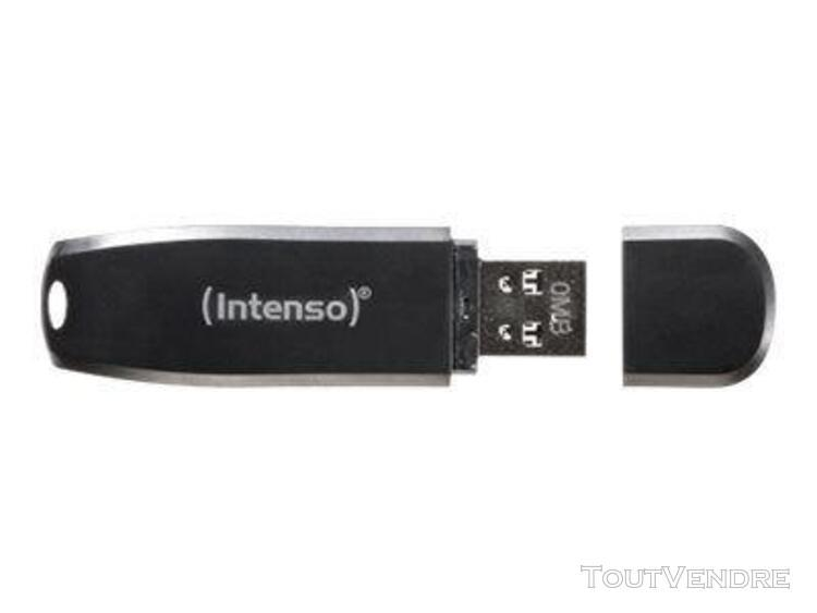 cle usb 3.0 intenso speed line 64go noir