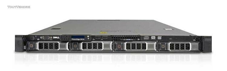 dell poweredge r610, 2x cpu intel xeon e5504 2,16 ghz 4c/8t