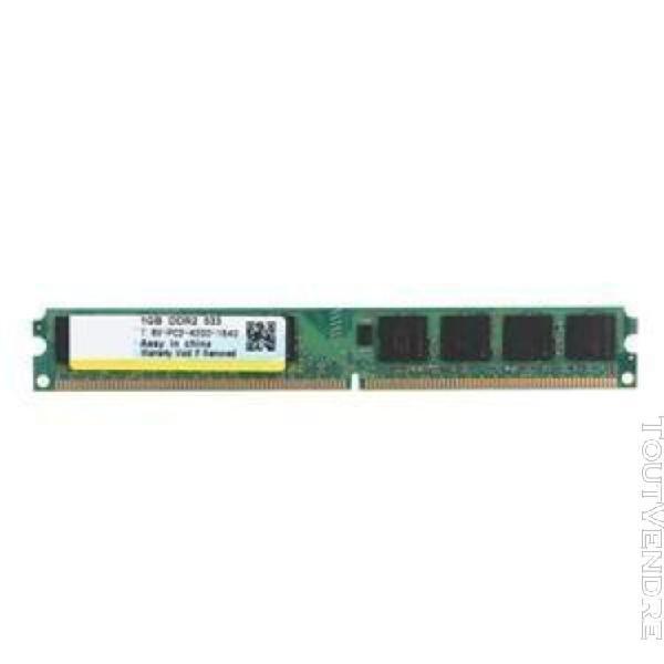 module de mémoire 533mhz 240 broches mémoire ram