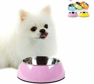 Animal de compagnie bols amovible en acier inoxydable chien