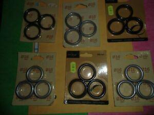 Destocakge 11 paquets 6 anneaux rideaux 16 mm = 66 anneaux