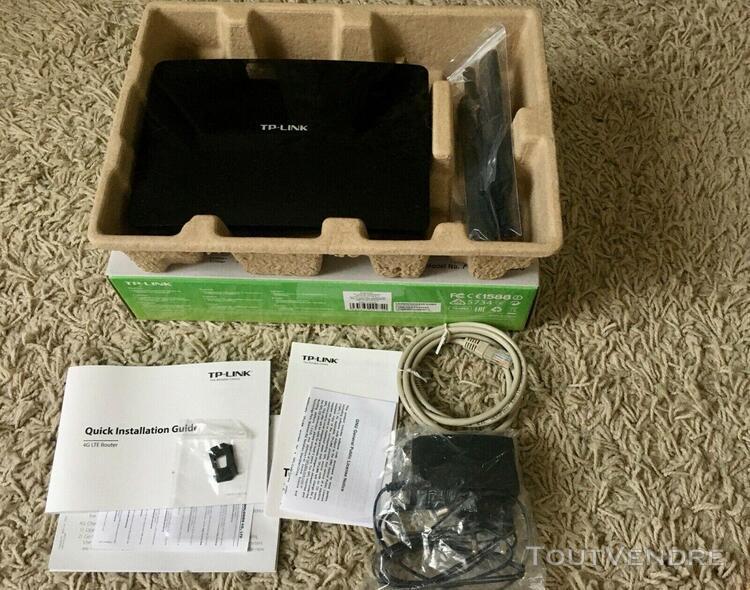Modem routeur wifi 4g tp-link archer mr200 ac750 lte wireles