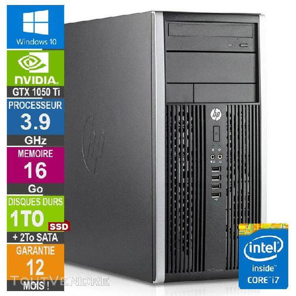 pc gamer lpg-6300t core i7-3770 3.90ghz 16go/1to ssd + 2to/g