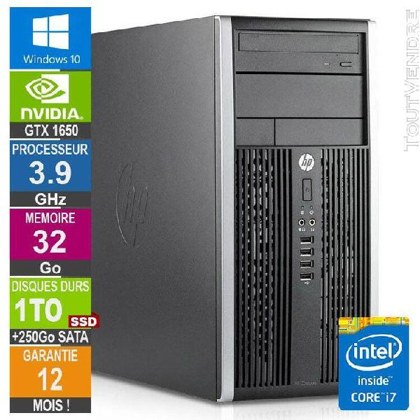 pc gamer lpg-6300t core i7-3770 3.90ghz 32go/1to ssd + 250go