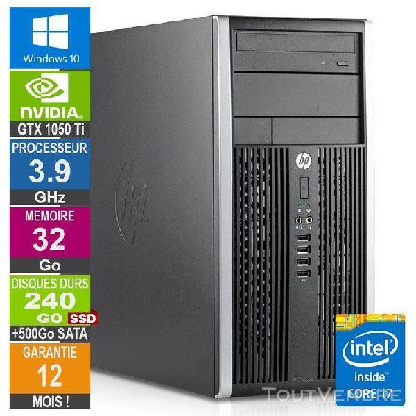 pc gamer lpg-6300t core i7-3770 3.90ghz 32go/240go ssd + 500