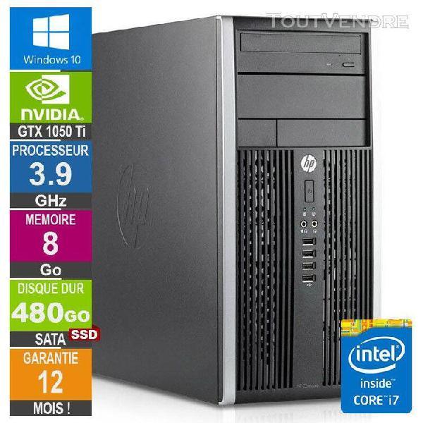 pc gamer lpg-6300t core i7-3770 3.90ghz 8go/480go ssd/gtx 10