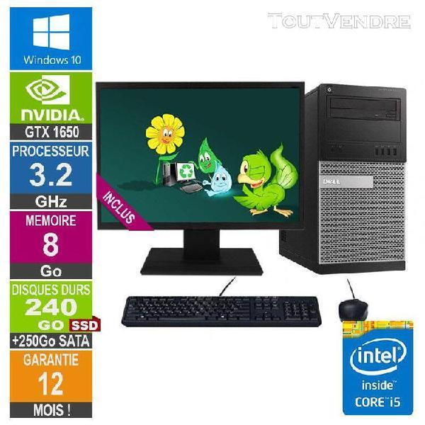 pc gamer lpg-9020t core i5-4570 3.60ghz 8go/240go ssd + 250g