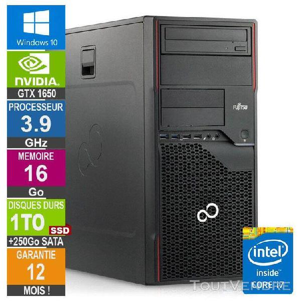 pc gamer lpg-p710 core i7-3770 3.90ghz 16go/1to ssd + 250go/