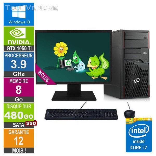 pc gamer lpg-p710 core i7-3770 3.90ghz 8go/480go ssd/gtx 105