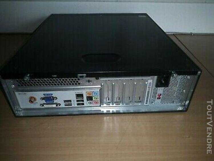Pc hp pro e6600 2x 3.06 ghz /ddr3 3 go / dd 360 go / wi
