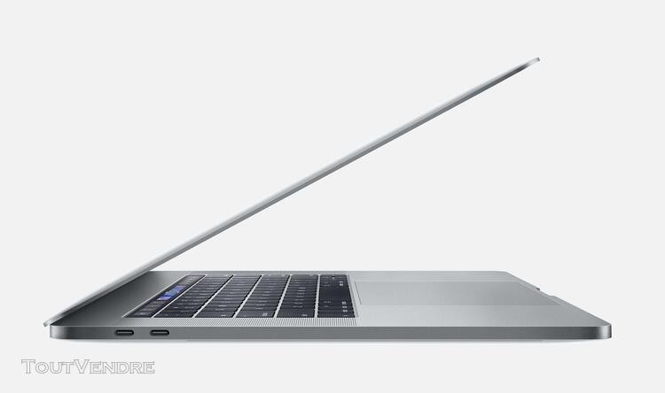 Apple macbook pro 15.4' touch bar sur mesure: 1to ssd 16 go