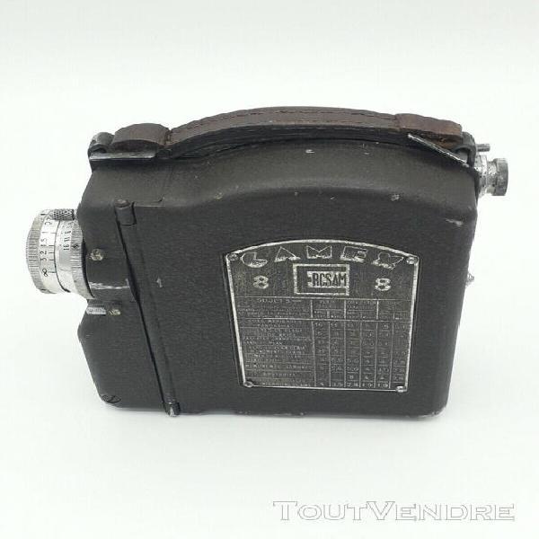 camex rscam 8 type gs n° 1485 avec house en cuir en bon