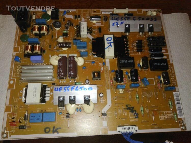 carte d'alimentation pour tv samsung ue55f6500ssxzf