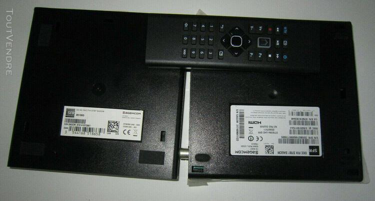 décodeur tv sfr plus (stb7),avec d- dur 500gb et