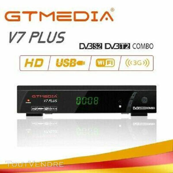 gtmedia v7 plus dvb-s2 dvb-t2 satélite receptor tv hd 1080p