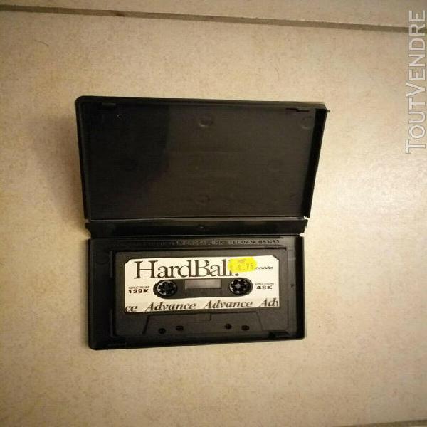 Jeu sur cassette en boite hard ball pour ordinateur sinclair