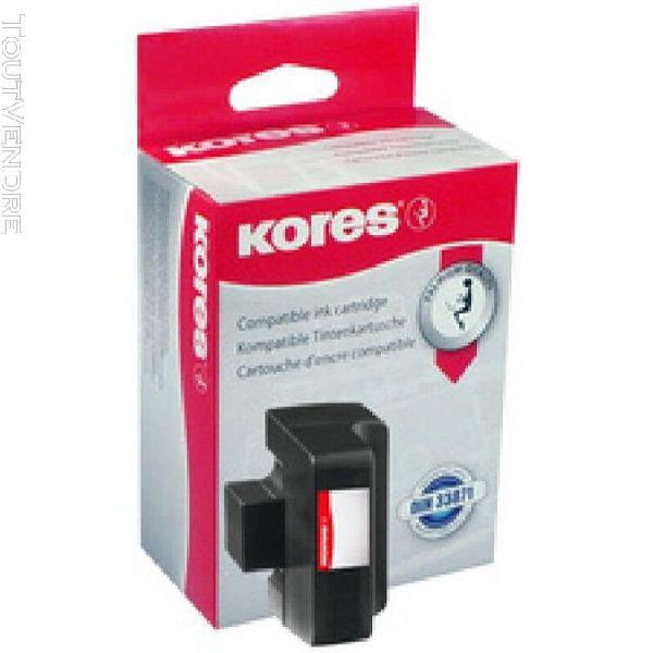 Kores encre g1719 remplace hp ch563ee/hp301xl, noir