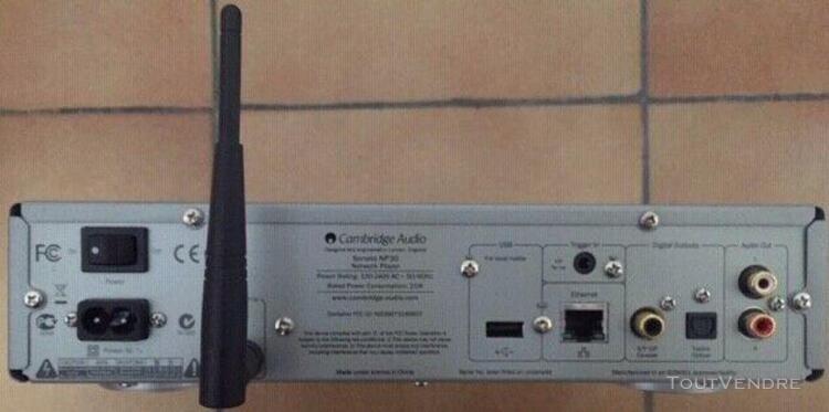 lecteur réseau cambridge sonata np30-s5 (neuf. utilisé 10