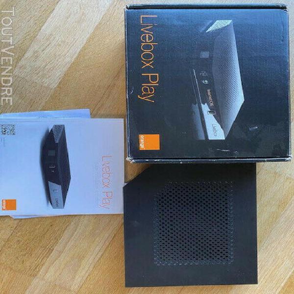 Livebox play 3 sagem orange adsl et fibre internet wifi comp